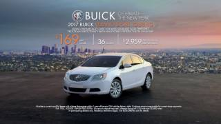 $0 Down - 2017 Buick Verano Sport Touring Lease Special