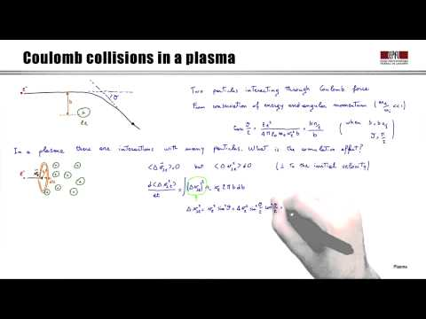 2b Coulomb collisions in plasmas