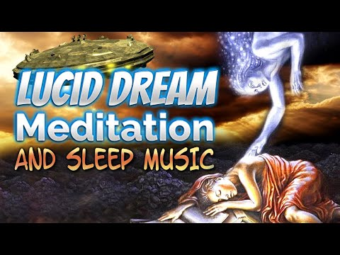 Binaural Theta Waves | Lucid Dream Meditation and Sleep Music