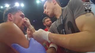 Сергей Лубкович - Виктор Плотников | Referee cam | Мир бокса