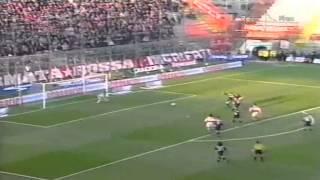 Serie A 2000-2001, day 19 Perugia - Lazio 0-1 (Simeone)