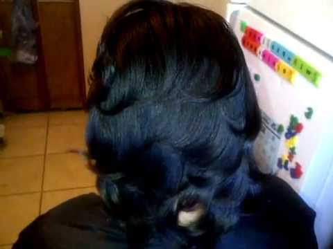 Layered Feathered Wrap Hair YouTube
