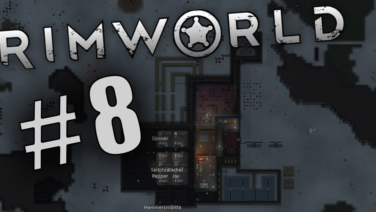 Rimworld S1 Ep 8 Hydroponics and power problems