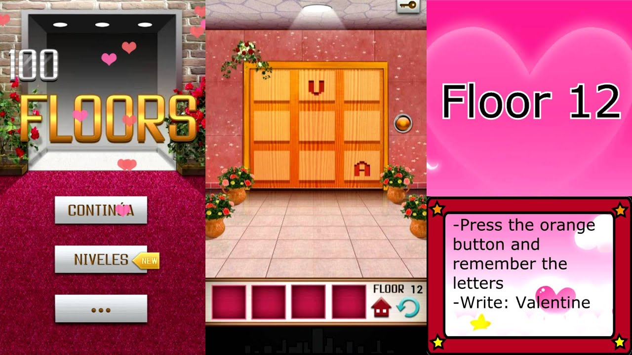 100 floors valentine 39 s special floor 12 youtube for 12th floor on 100 floors