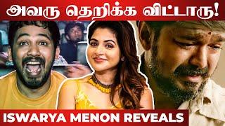 """Thalapathy Vijay, what did you say?"" – Naan Sirithal Heroine Iswarya Menon Fun Interview"