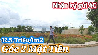 Cát Tường Phú Sinh Đức Hòa Long An | #kháchkýgửi Bán Lô Đất Góc 2 Mặt Tiền 137.1m2 | NTN 0909117880
