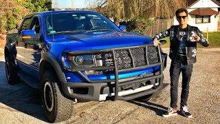 100$ За 700 Л.С. Ford F150 Raptor ( !!! ) Тест-Драйв Компрессорного Монстра!) V8 6.2. Обзор.