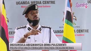 Poliisi efulumiza ebiragiro ebigenda okugobererw