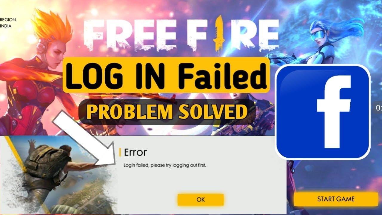 Garena Free Fire Facebook Login Problem Login Error Fixed In Free Fire Youtube