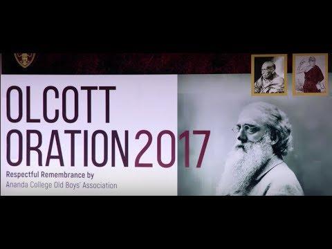 Olcott Oration 2017