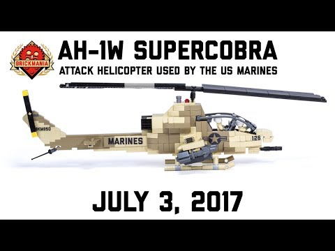 AH-1W SuperCobra - Custom Military Lego