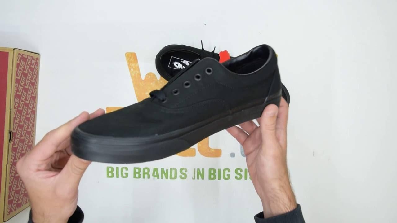 premium selection fada5 350fe Vans Era - Black Black - Unboxing   Walktall