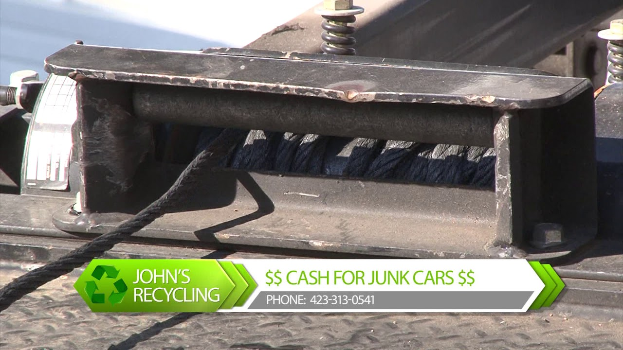 John\'s Recycling: Chattanooga Cash For Junk Cars - YouTube