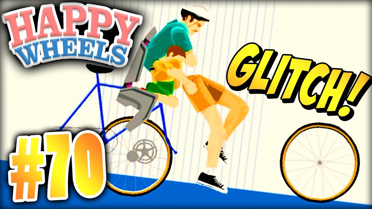Happy Wheels - NAKED LADY GLITCH - YouTube