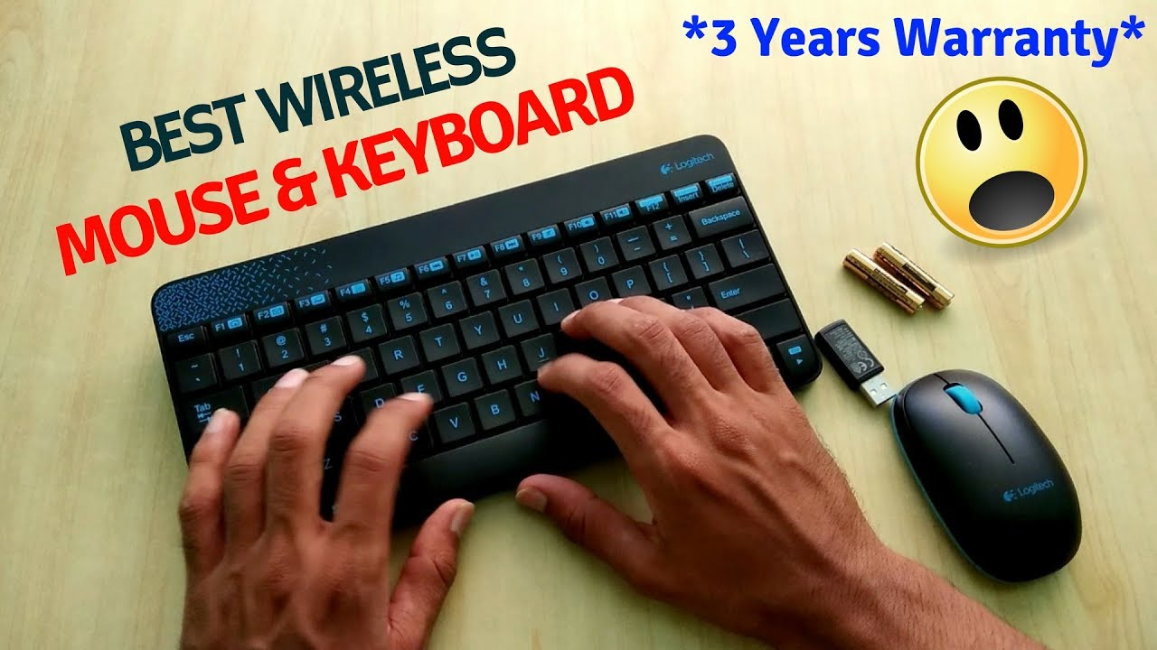 1afdbc55bf3 Unboxing & Review Of Best Budget Wireless Keyboard & Mouse For PC/Laptop |  Logitech mk240 Review