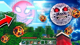 Do NOT Summon the LUNAR MOON & RED SUN in the Same Minecraft World!