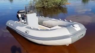 Обзор лодки Риб  Гладиатор 420 al