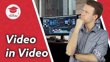 Video in Video einblenden (Pc und Handy) #wiegehtyoutube