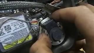 Volkswagen Touareg(VW)replacement lights corrector/Фольксваген туарег замена корректора фары