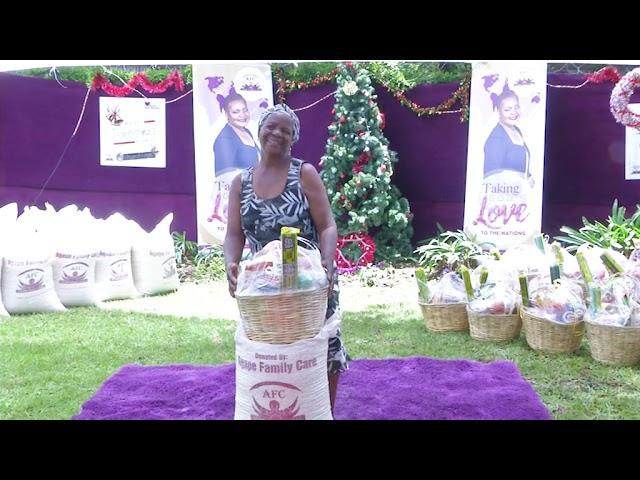 RUTH MAKANDIWA - AGAPE CHRISTMAS DONATION