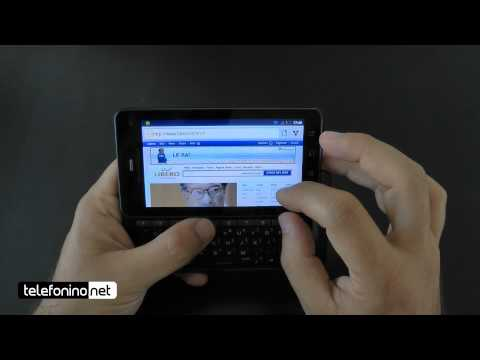 Motorola Droid 3 videoreview da Telefonino.net