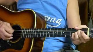 Easy- How to Play Jesus Loves Me - Christian/Gospel songs on Acoustic Guitar for Beginners