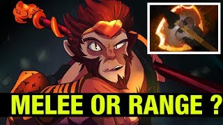 MELEE OR RANGE HERO ? - FLY MONKEY KING - Dota 2