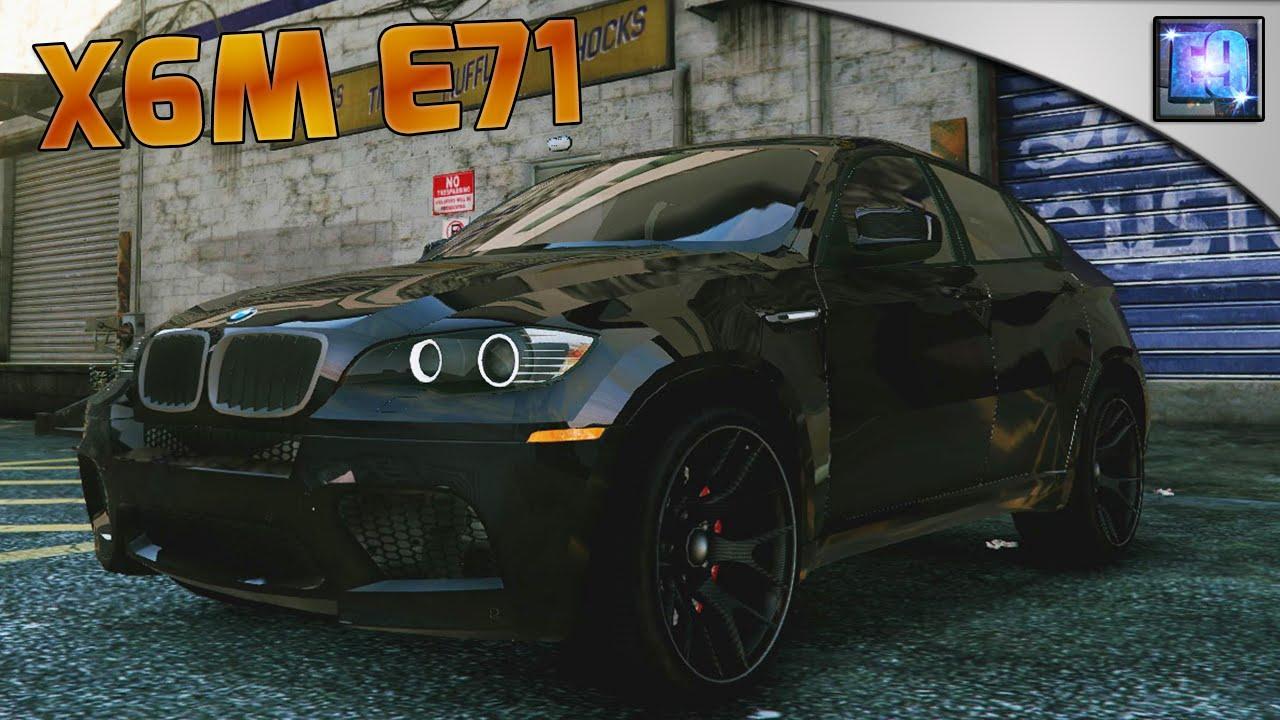 Gta 5 Pc Bmw X6m E71 Car Mod Youtube
