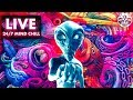 Third Eye Vibes 🎧 - 24/7 Mind Chill - Trippy Chill-Out Music & Visual Art Radio