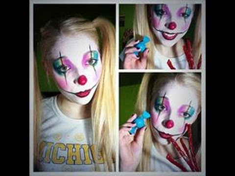 Cute and Girly Clown Makeup Tutorial
