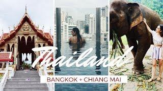 EXPLORING THAILAND: BANGKOK - CHIANG MAI | Travel Vlog