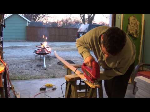 Chambered Wooden Surfboard Build Pt. 1