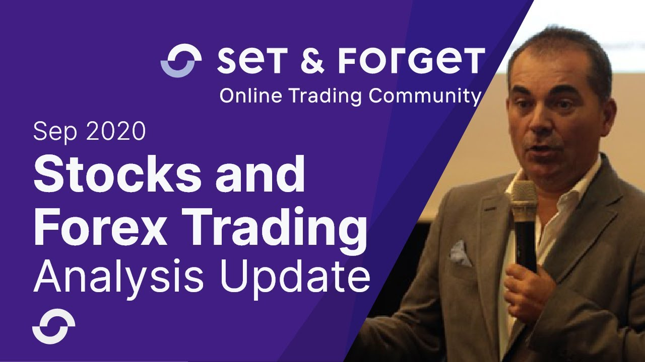 Forex and Stocks Technical Analysis update September 2020