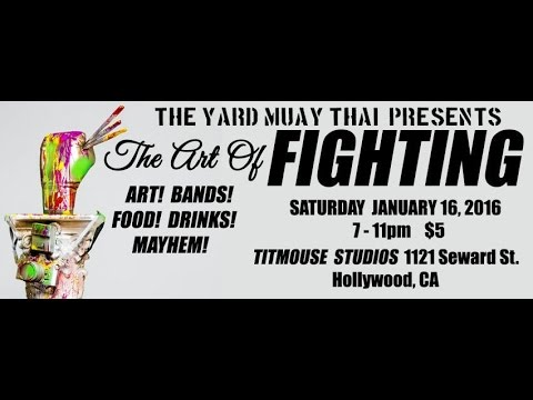 LAPC & Bazan Studiosresents The Art of Fighting at Titmouse Animation Studios Hollywood