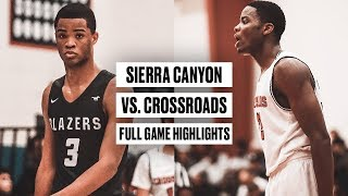 LeBron Pulled Up To Watch Cassius Stanley Throw Down a 360 Against Crossroads - Full Game Highlights