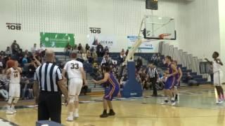 Jaden Rhoden and-1 puts TRN up 49-47
