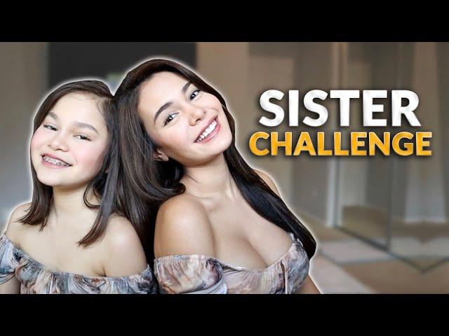 SISTER CHALLENGE! | IVANA ALAWI