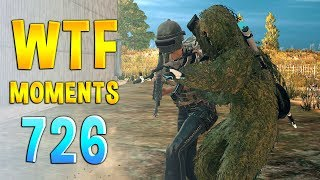 PUBG WTF Funny Daily Moments Highlights Ep 726
