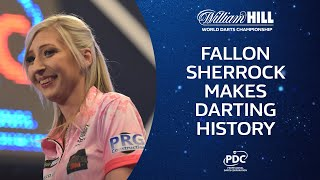 SHERROCK MAKES HISTORY!! Sherrock 3-2 Evetts | 2019/20 World Darts Championship