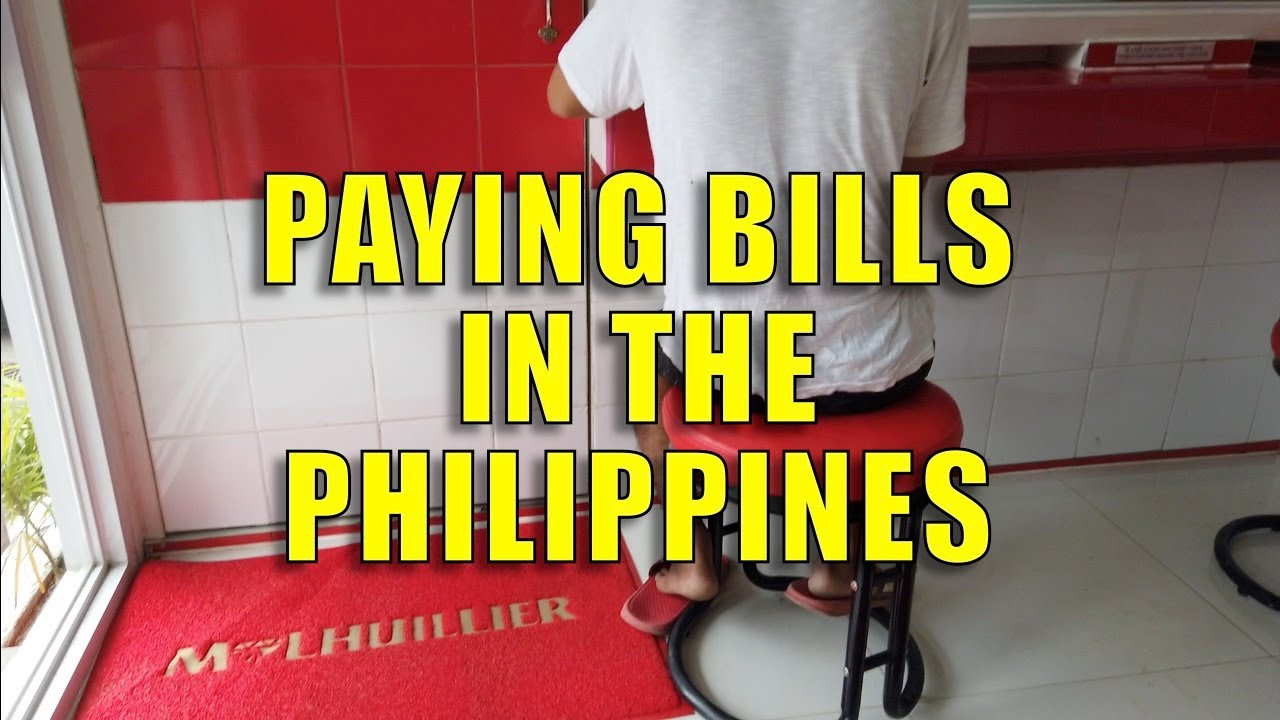 Paying Bills In The Philippines.