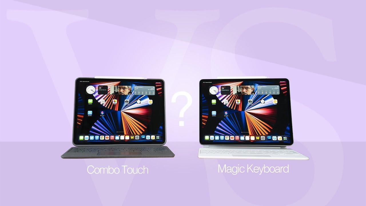 APPLE MAGIC KEYBOARD ou LOGITECH COMBO TOUCH, quel est le meilleur clavier pour votre IPAD PRO ?