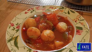 Fate Low Protein  Spicy Vegetable Stew with Dumplings
