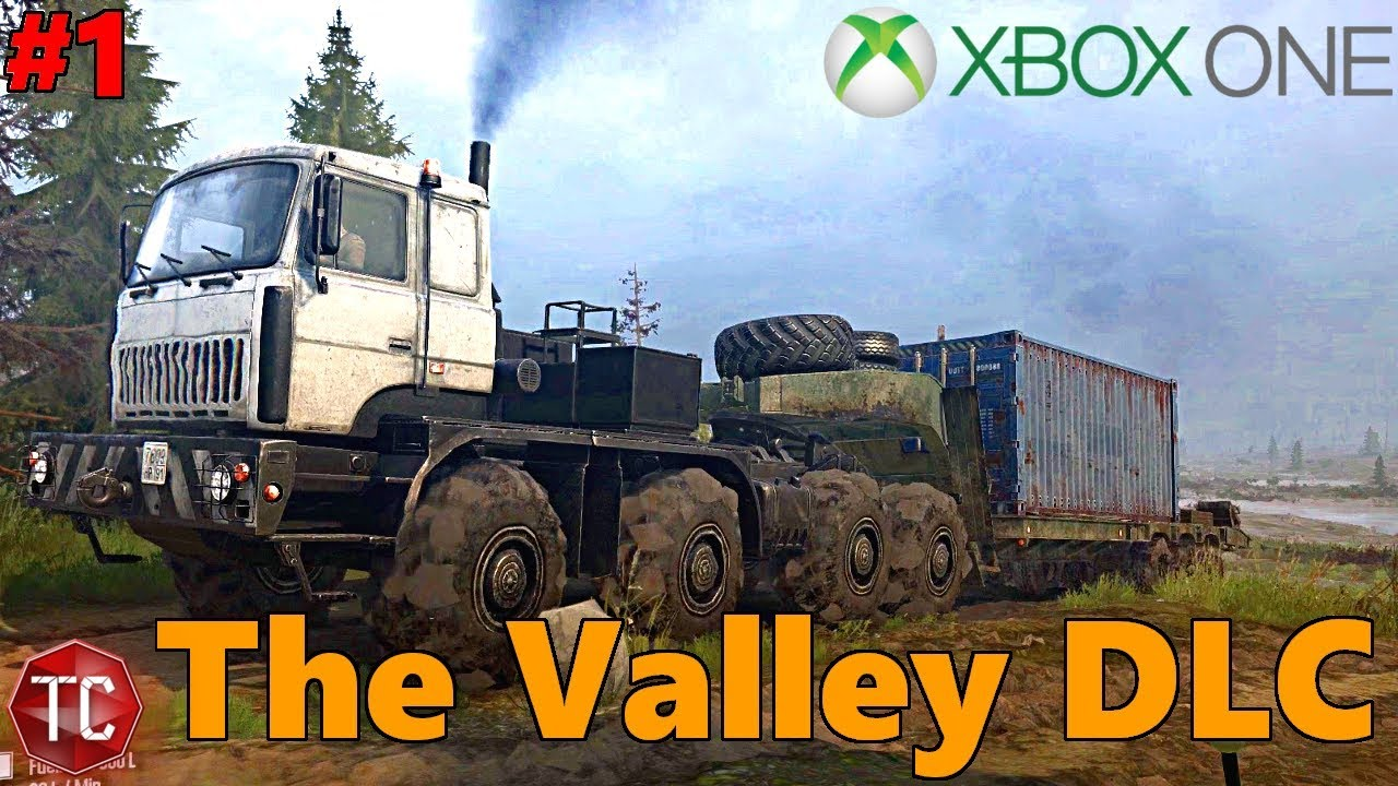 spintires mudrunner xbox one let 39 s play the valley new. Black Bedroom Furniture Sets. Home Design Ideas
