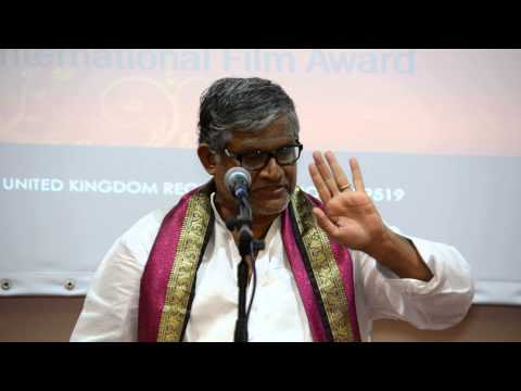Sh. Tanikella Bharan at UKTA 4th World Telugu Literature Conference(4) in London