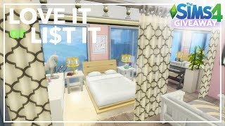 LOVE IT or LIST IT: 1310 21 Chic St ~ Sims 4 Renovation (Base Game + City Living)