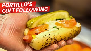 Why Is the Midwest Obsessed with Portillo's and the Chicago Dog? - Cult Following