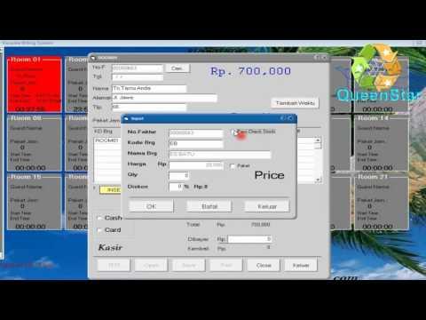 demo software kasir karaoke | Yen Karaoke