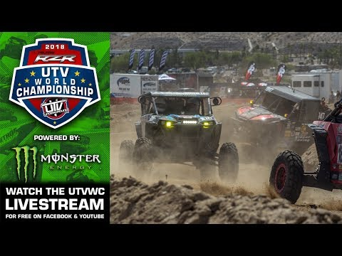 2018 Polaris RZR UTV World Championship powered by Monster Energy Live Stream