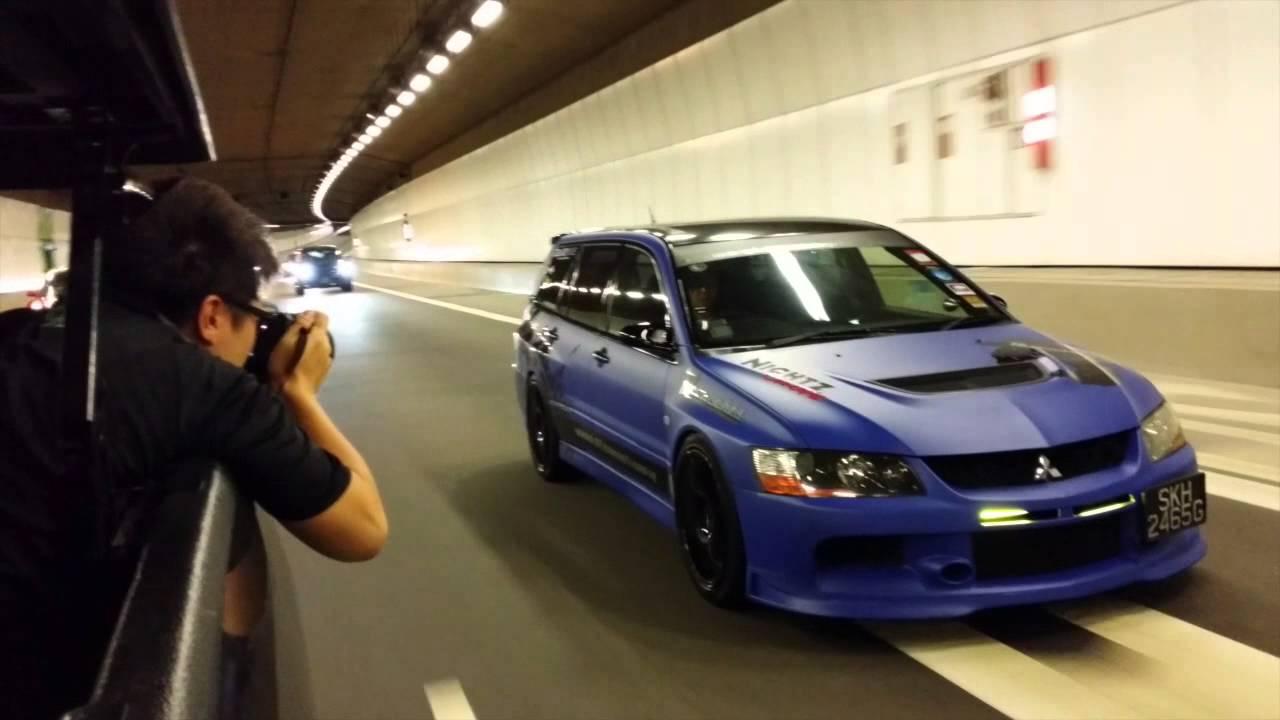 NightzConcepts Mitsubishi Evo Wagon - YouTube
