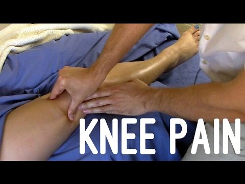 Massage Tutorial: Knee pain, myofascial release techniques
